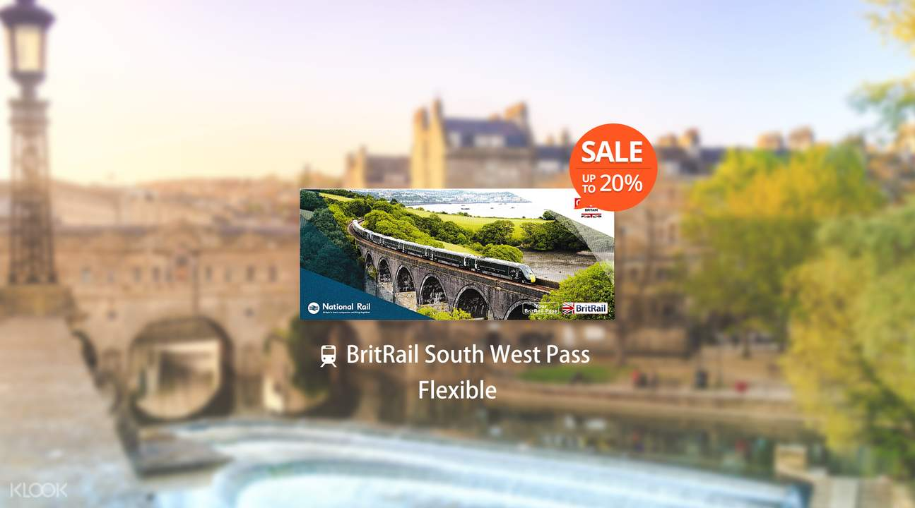 [Sale] BritRail South West Pass (Flexible 3, 4, 8, or 15 Days)